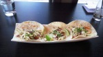 Broek Acres pulled pork tacos with gojujang sauce