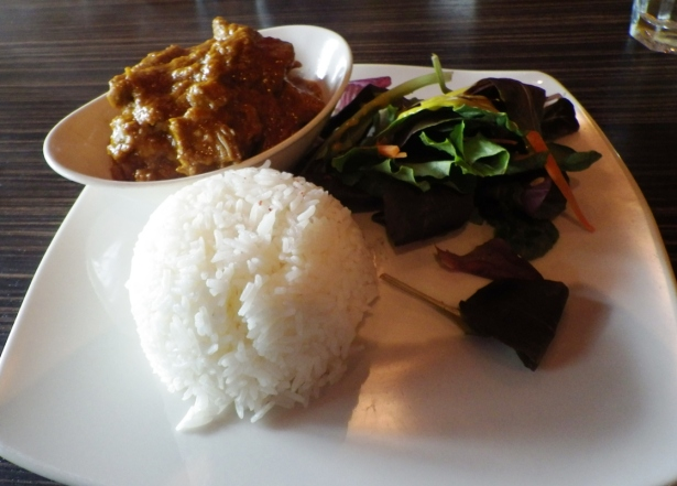 Kari Lamb Boneless lamb shoulder stewed in curry, infused with cumin, fennel and coconut milk