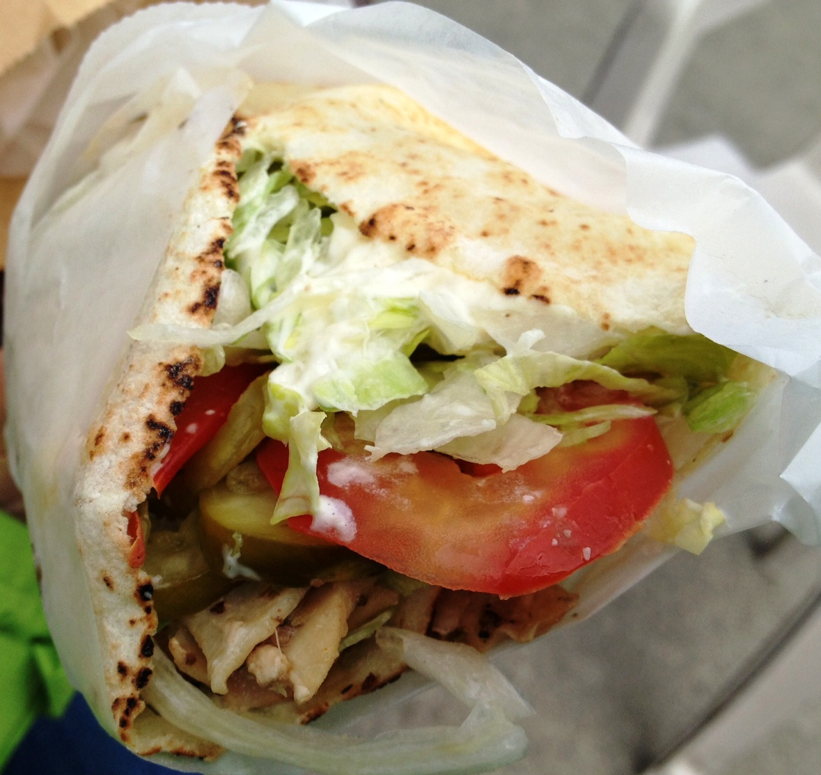 Small Chicken Shawarma