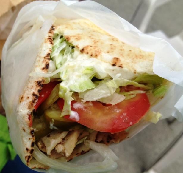 Small Chicken Shawarma