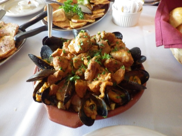 Pork and Mussels Casserole