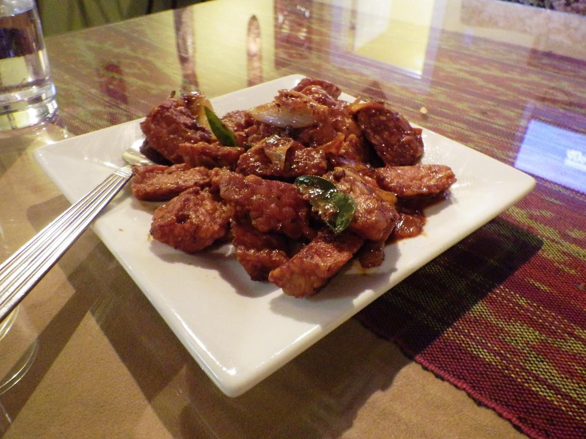 Sambal Goreng Tempeh Tempeh sauteed with sambal sauce