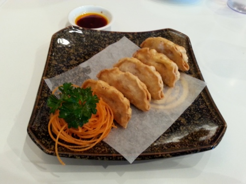 Age gyoza (deep fried)