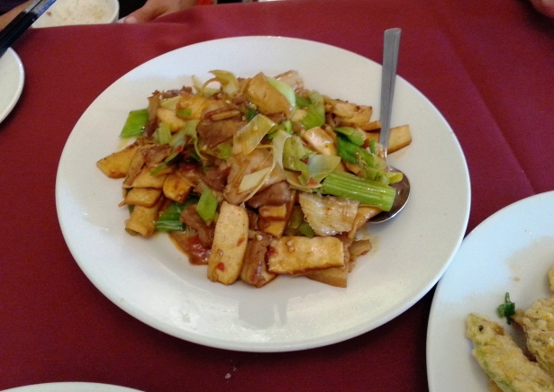 Yunnan style twice cooked pork