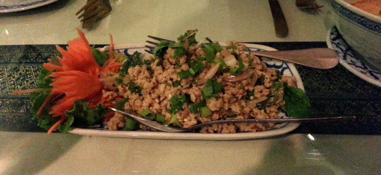 Larb Kai (chicken)