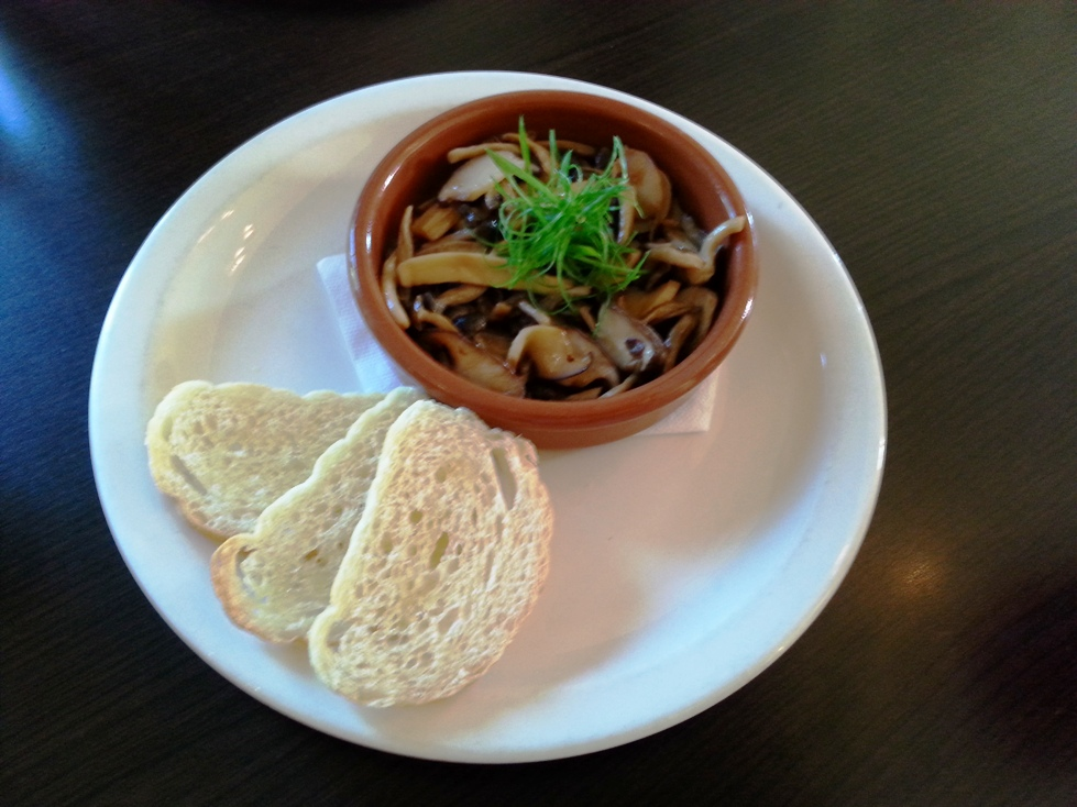 Sauteed Mixed Mushrooms with Garlic