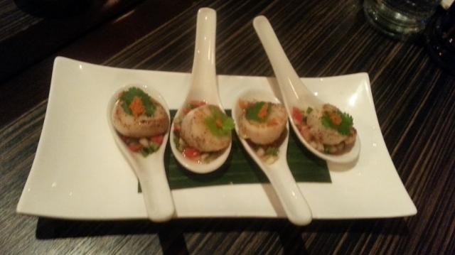 Khao San Salsa Scallops