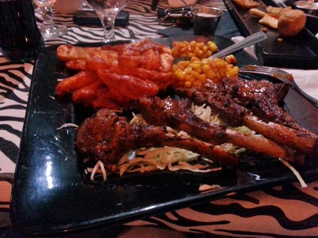 Kondoo (Lamb) Chops