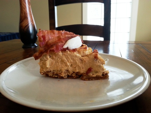Topped with bacon and Greek yogurt