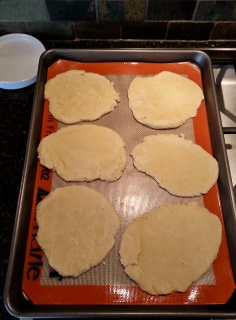 Sweetcrust dough