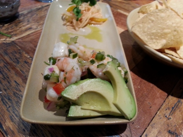 Scallop and shrimp ceviche