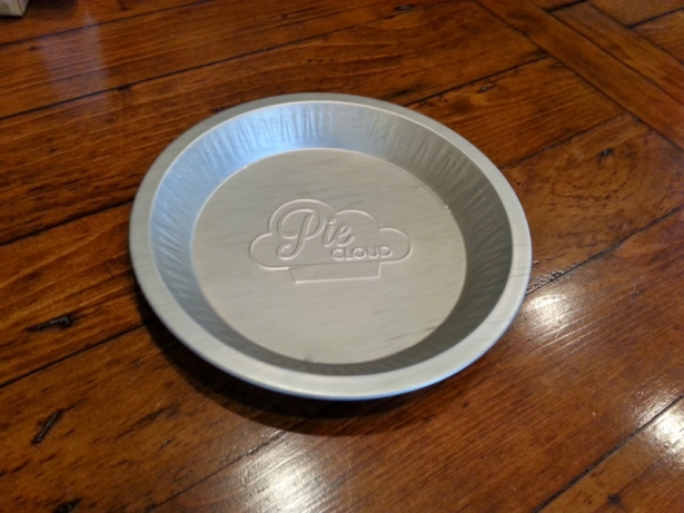 Custom pie tin