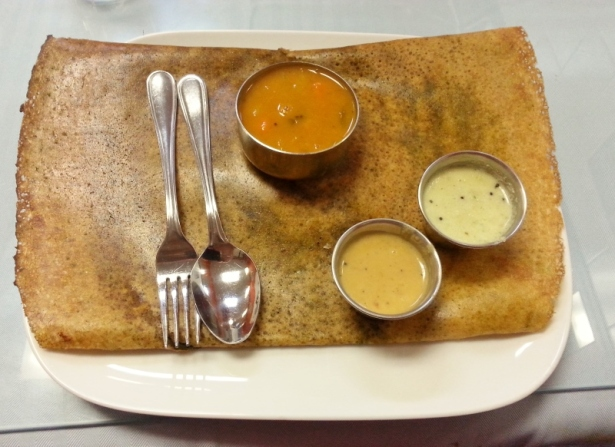 Mixed Vegatable Dosa